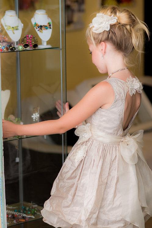 TARATATA dress beige size 8 years