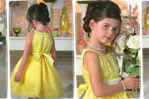 6jaar: Pamilla dress bolero matching