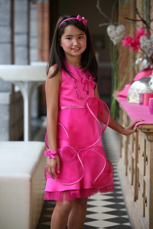 10jaar: Suzanne Ermann dress, incl bolero and diadeem