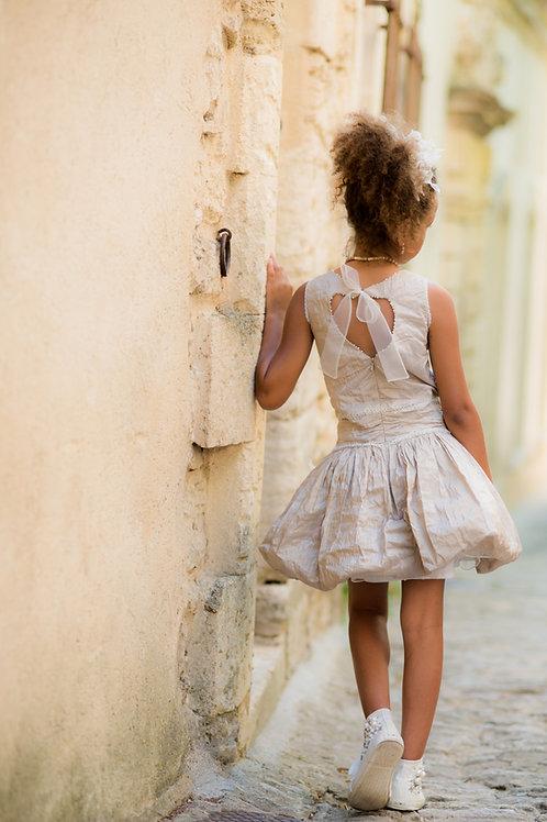 TARATATA dress beige size 12 years