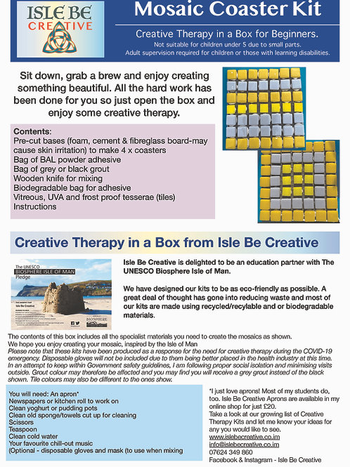 Creative Therapy in a Box - Craft Kit