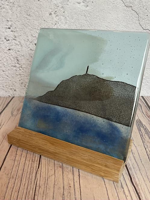 Glass Bradda Head with Milner's Tower