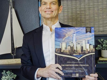 Uncompromising Financial - 2020 Manifest Christ Award Winner