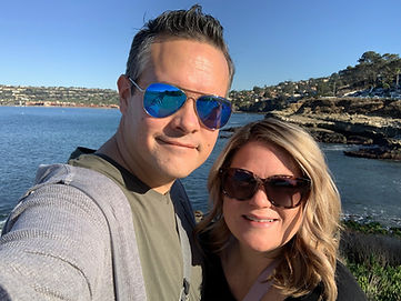 Bret and Leslie in La Jolla, CA