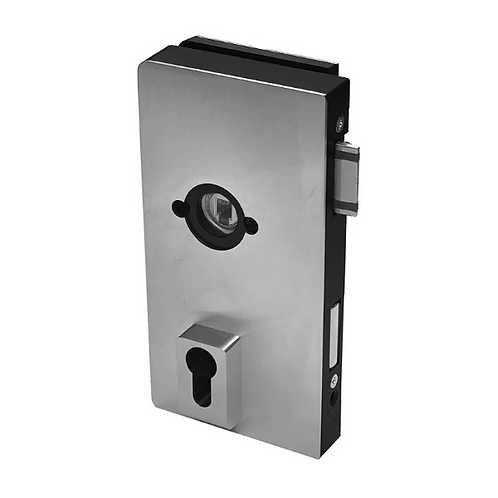 Dorma Office MUNDUS Patch Lock, with Rose Fixing