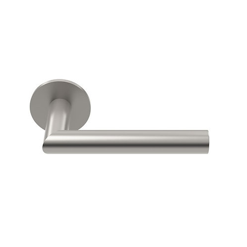 FL501RR-G 19mm Dia Mitred Lever Handle on Rose