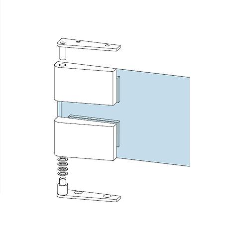 Dorma Corner Pivot Hinge Set