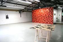 Katya Ev (ekaterina vasilyeva), Peinture Murale, residence à La Malterie, lille, France, in collaboration with Elizaveta Konovalova