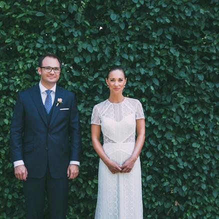 Idyllische Hochzeit