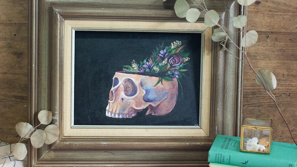 Funeral Bouquet Art Print