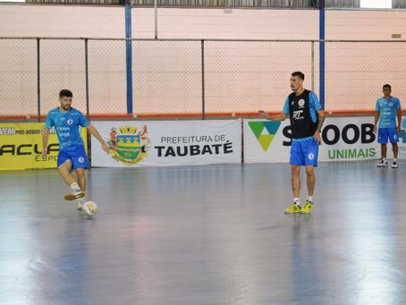 Reforçado, Taubaté Futsal se prepara para enfrentar o Taboão
