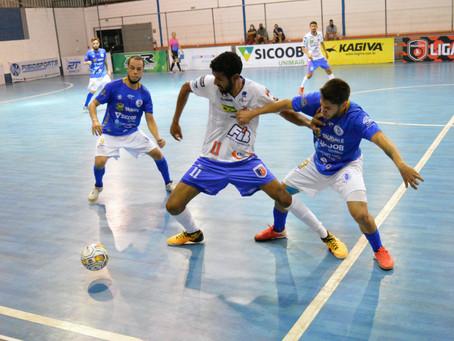 Taubaté Futsal vence o Bauru em casa e assume a liderança da LPF 2021