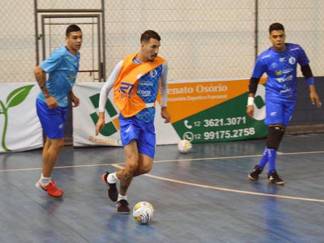 """Taubaté Futsal pronto para a primeira das """"três decisões"""""""