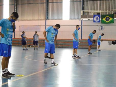 Taubaté Futsal retoma os treinos presenciais, de olho na Copa LPF