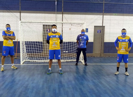 Taubaté Futsal retoma os treinos presenciais