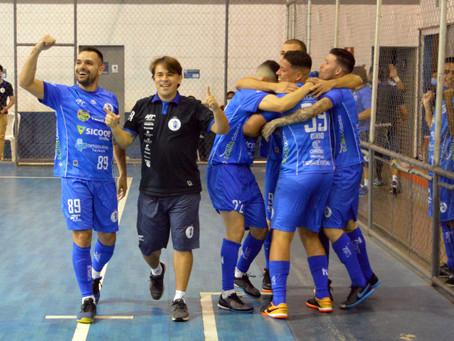 Na raça, Taubaté Futsal é semifinalista da LPF 2020!