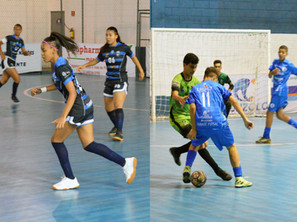 Equipes de Base do Taubaté Futsal foram para quadra neste fim de semana