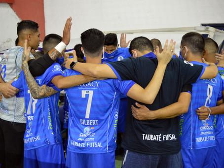 Taubaté Futsal da adeus à LPF 2020 após partida tensa e intensa
