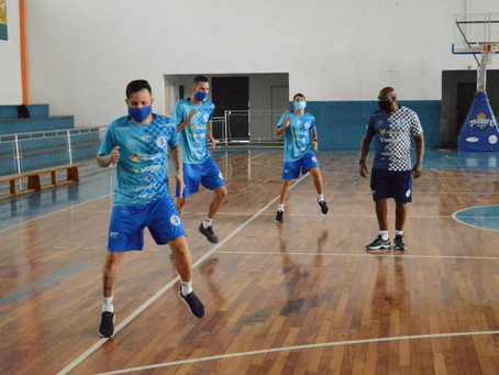 Taubaté Futsal segue treinando forte para a estreia na Copa LPF