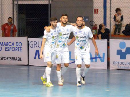 Taubaté Futsal vence o Yoka em noite de artilheiros
