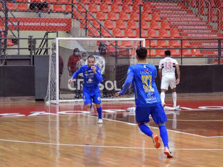 De virada, Taubaté Futsal vence o São Paulo pela Copa LPF