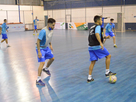 Taubaté Futsal pronto para a estreia na Copa LPF 2021
