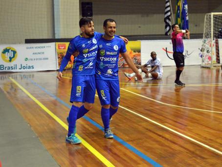 Taubaté Futsal estreia com vitória na LPF 2021
