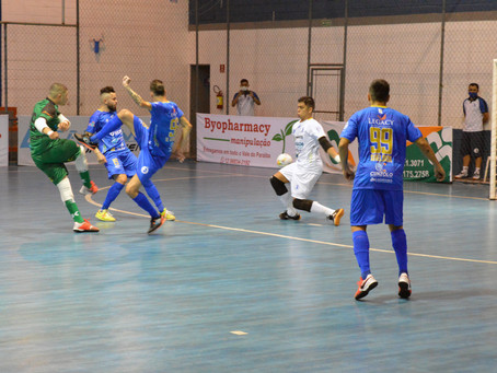 Pela Copa LPF, Taubaté Futsal fica no empate com Taboão