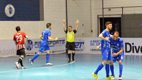 Com mais 6 gols, o líder Taubaté Futsal passa pelo SPFC