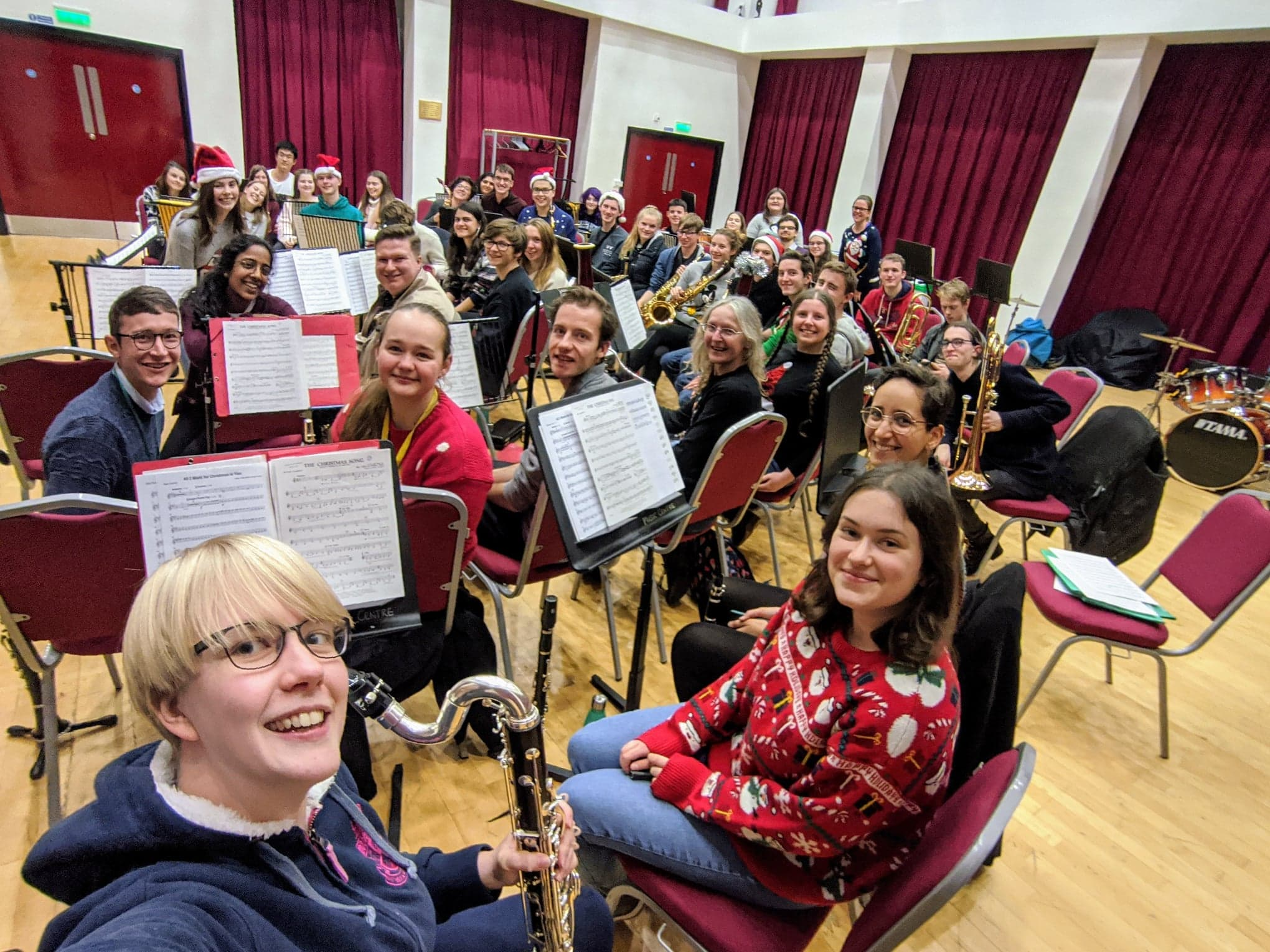 Christmas Rehearsal 2019