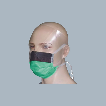 DISPOSABLE VISOR MASK WITH FACE SHIELD