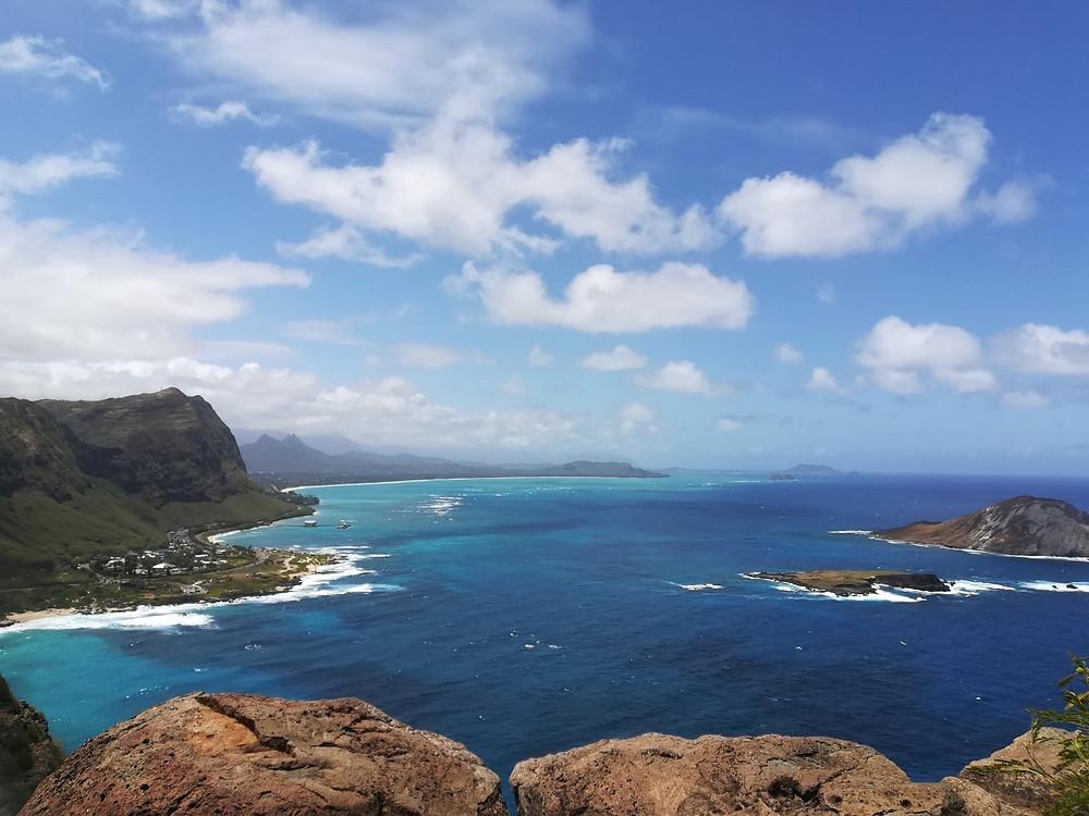 マカプゥ岬からの眺め