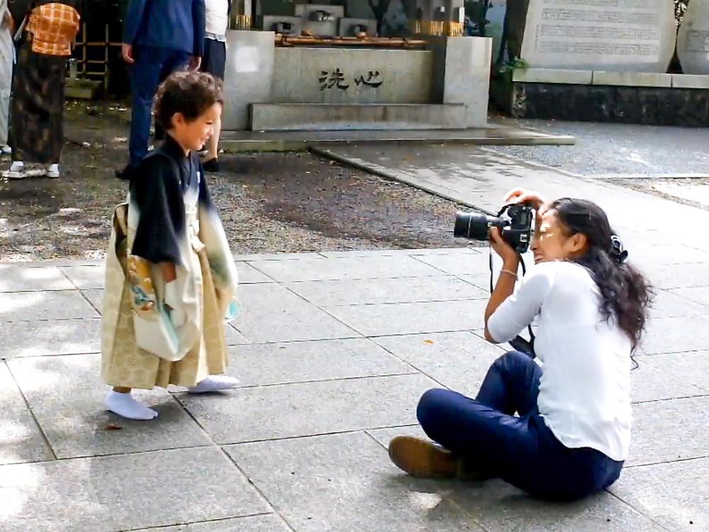 Côme et la Photographe