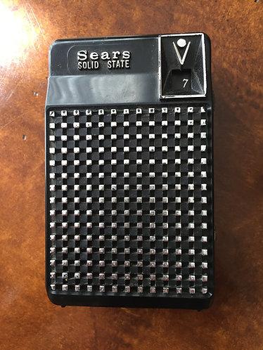 Sears Solid State Transistor Radio - 2202