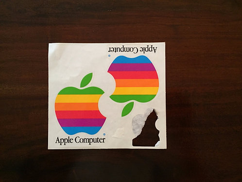 Vintage Apple Computer Stickers