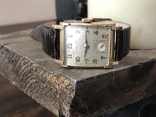 1940s Vintage Hamilton 14K Gold Filled Mens Dress Watch Cal. 982