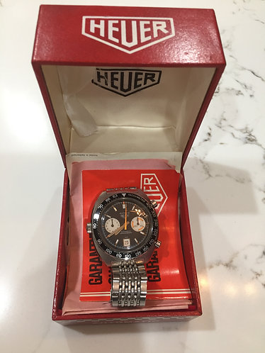 Heuer Orange Boy 1163 Autavia