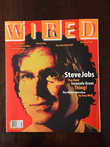 Steve Jobs Wired Magazine 1996