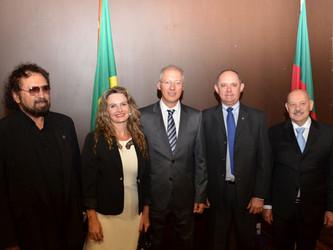 Registrador Figueiró comparece à posse do novo diretor do Foro da Comarca de Porto Alegre