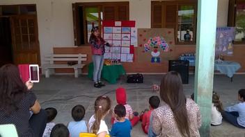 Mostra de trabalhos dos alunos das Escolas:Emei Marieta Ferreira Lessa,Emei Ediane Silveira Menoti e