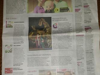 Livro 'Manoelito o palhaço tristonho' de Angélica Rizzi destaque na seção Programinha de Zer