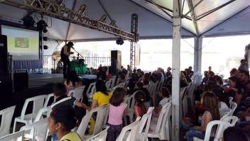 Belos momentos na 20ª Feira do Livro de Esteio-RS