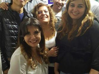Escritora e cantora Angélica Rizzi e jornalista Guto Villanova visitaram a Rádio Bossa Nova Peru Rad