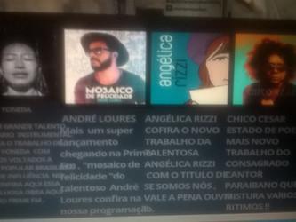 Angélica Rizzi em destaque na PRIME FM de Guarujá - SP