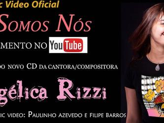 Angélica Rizzi lança lyric video de 'Se Somos Nós'