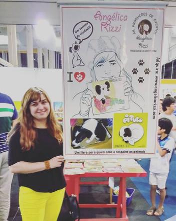 Angélica Rizzi na 8ª Bienal Internacional do Livro de Alagoas