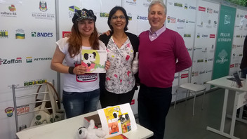 Momentos incríveis na Sexagésima primeira Feira do livro de Porto Alegre-RS