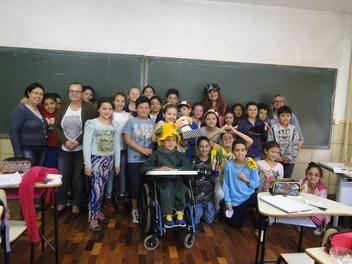 Bate-Papo literário naEMEF João Alfredo CorrêaPinto em Canela-RS!