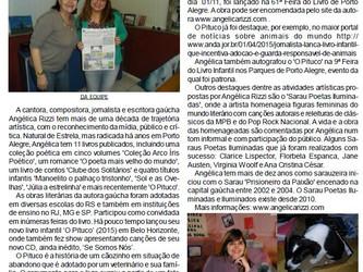 Angélica na Folha de Estrela/RS