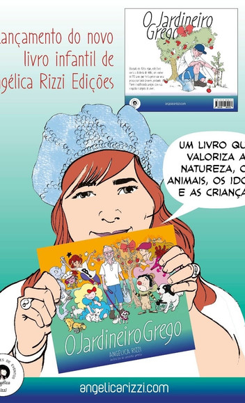 Lançamento do novo livro infantil de Angélica Rizzi Edições